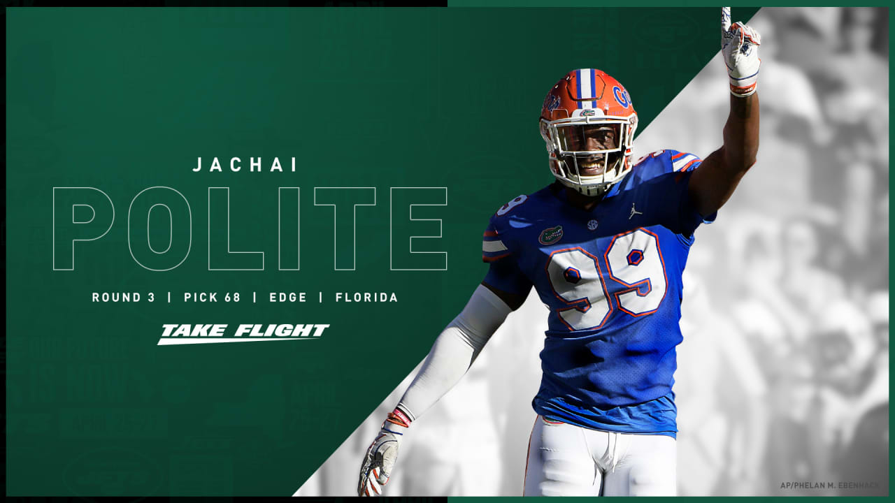 Jets Cut 3rd Round Selection Jachai Polite