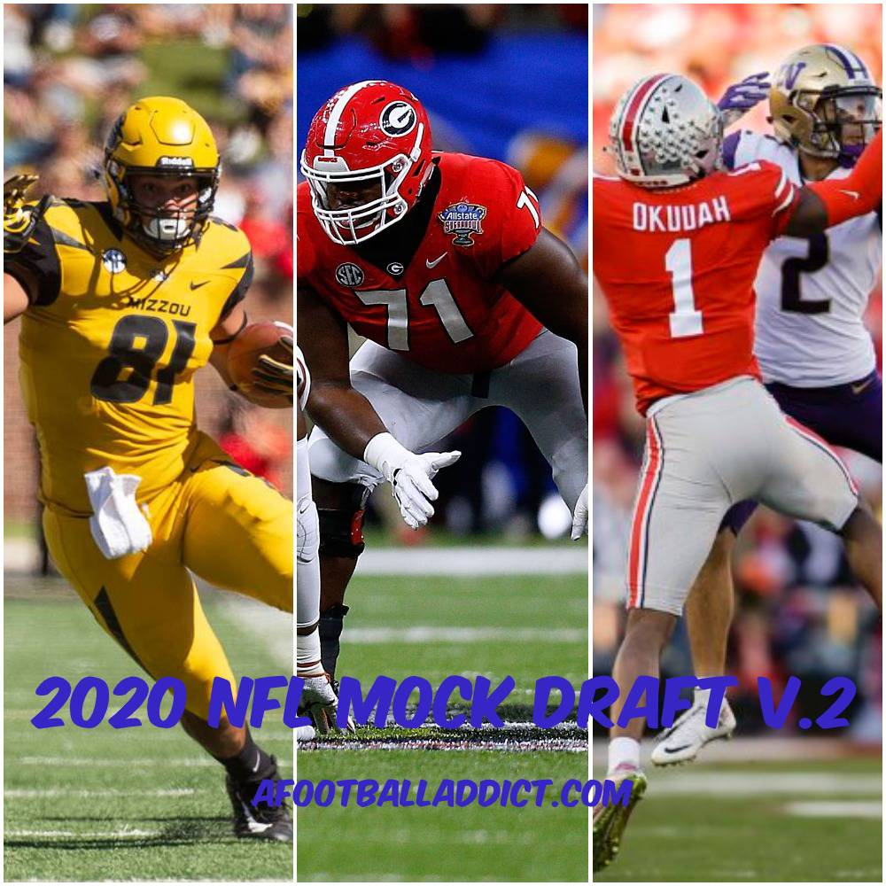 2020 NFL Mock Draft v.2