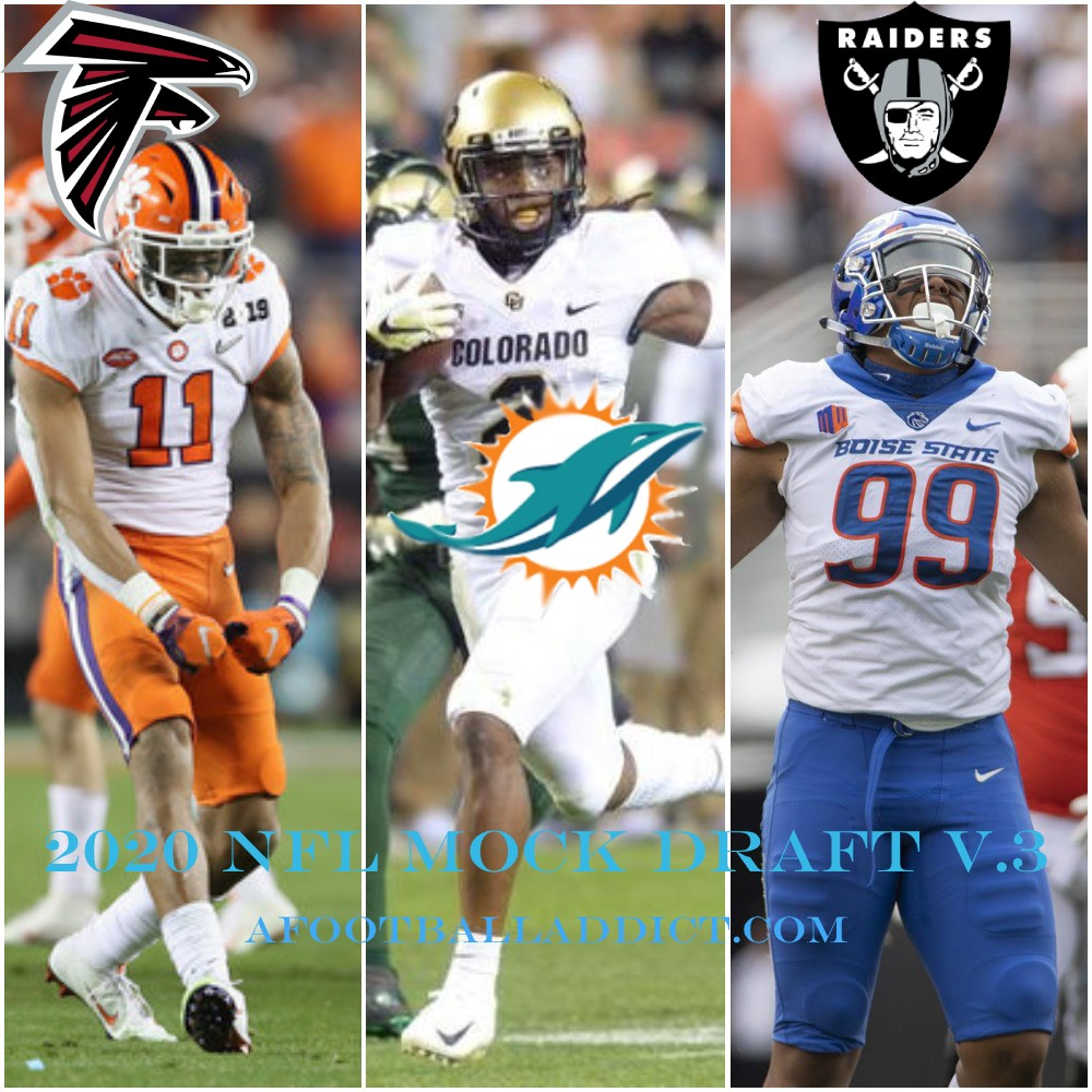 2020 NFL Mock Draft v. 3